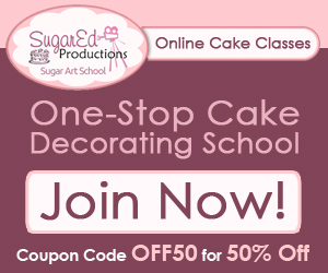 SugarEd Productions One Stop Cake Decorating School