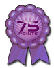 You have earned the Excellence Award for your contributions. (75 points earned.)