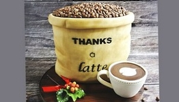 Thanks a Latte Cake