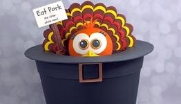 Hiding Turkey Cake