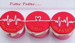 Heartbeat Cupcakes