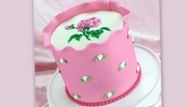 Airbrushed Rose Wrap