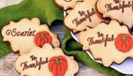 Antiqued Cookies