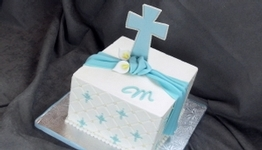 Quilted Cross Cake