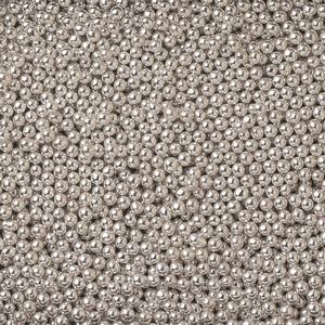 4 MM Silver Dragees