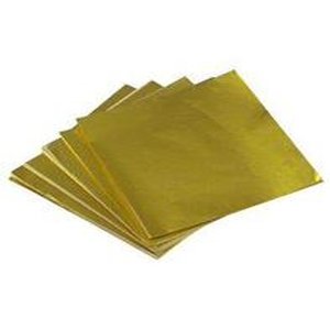 Gold Foil Candy Wrappers