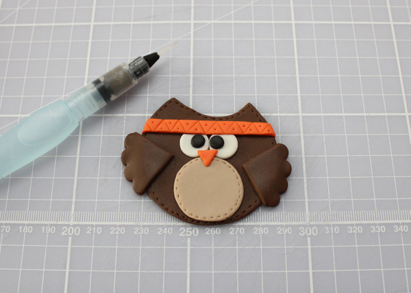 Thanksgiving owl cupcakes tutorial
