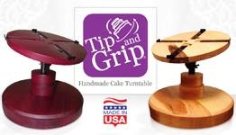 Tip and Grip Turntable